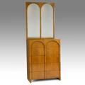 Th robsjohngibbings widdicomb tall mahogany dresser and mirror fabric label dresser 45 12 x 34 x 20 34 mirror 42 x 34
