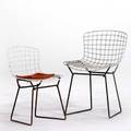 Harry bertoia knoll two childs chairs 1960s plastic coated and enameled steel unmarked taller 23 x 16 x 17