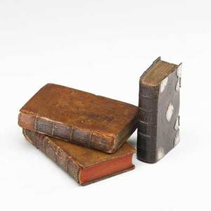 18th c religious books three volumes the book of common prayer by john baskett 1726 in fine silvermounted leather binding and the clergymans vademecum by john nichols 1709 in two volumes
