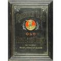 Whiskey advertising mirror roderick dhu old irish whiskey 19th c framed 31 x 22