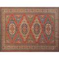 Soumak persian rug geometric design on red ground flatwoven 20th c 119 x 91 12