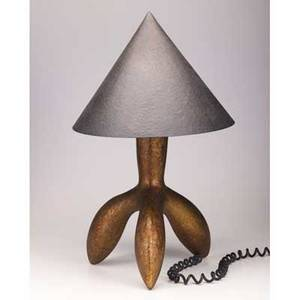 Wendell castle table lamp usa 1996 polychrome wood and metal signed and dated 26 12 x 14 x 12