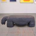 Judy kensley mckie hippo bench usa c 2006 stone provenance acquired from the artist signed and dated and numbered 18 20 x 72 x 21