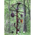 Christopher hiltey exterior sculpture farm totem 2008 welded steel and found objects signed and dated 9 4 12 x 8 x 41