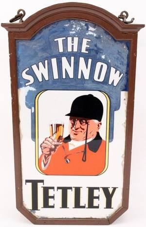 Large British Pub Advertising Sign