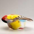 Dino martens aureliano toso oriente hatshaped bowl italy 1960s unsigned 5 x 11