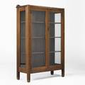 Stickley brothers twodoor china cabinet quaint decal 56 12 x 37 12 x 14 12