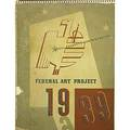 Various artists american 20th c works progress administration wpa calendar 1939 twelve screenprints in colors 11 12 x 8 58 sheet each publisher the poster division of the federal a