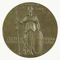 Augustus saintgaudens irishamerican 18481907 the womens auxiliary of the massachusetts civil service reform association presentation medal 190506 bronze stamped charles holt gould on ver
