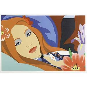Tom wesselmann american 19312004 lulu 1982 lithograph in colors framed signed dated and numbered 124250 16 58 x 25 image 17 34 x 25 78 sight publisher the metropolitan opera