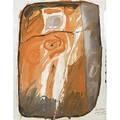 Rex ashlock american 19181999 two works of art untitled 1963 gouache on paper dated 24 34 x 19 14 sheet irregular untitled 1959 gouache on paper signed and dated 24 x 17 78 s