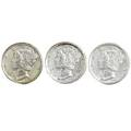 Mercury dimes 19401945 inclusive with all mints for each year all coins ms 60