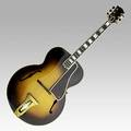 Gibson l5 acoustic guitar with arch top and sunburst design ca 1936 serial no 93007 17 x 41 12
