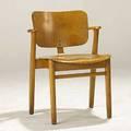 Ilmari tapiovaara knoll domus birch stacking chair 31 x 22 x 22
