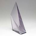 Mark peiser glass sculpture from staircase parnassus series 1985 signed and dated iss58 11 12 x 6 12