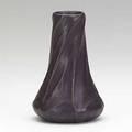 Van briggle bud vase with twisted leaves rich burgundy glaze 1907 provenance van briggle pottery aa van briggle colo spgs 66 5 14 x 3 12