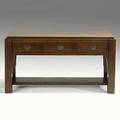 Lifetime rare narrow hall table stenciled 1124 29 14 x 56 x 23 34