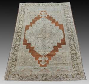 Turkish Oushak Rug 64 x 10