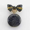 Golayleresche fils  stahl geneve  paris 1910 enameled 18k gold lapel pinwatch neorenaissance guilloche enamel depicts a griffon in entwined foliage swiss case gilt porcelain face pinset 1