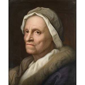 Kpm porcelain portrait plaque depicting an elderly woman in coat and cap 19th c marked kpm 14 12 x 11 34 sight