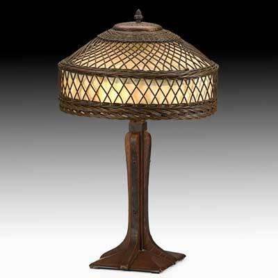100 Stickley Lamp Gustav Stickley Lamp Oak Copper U0026 Sla.Steve ...