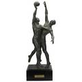 Clemente spampinato american 1912  1993basketball group 1951 bronze signed and dated clemspampinato new york 1951 c 4 30 12 high 35 with base provenance the eileen and marvin rein