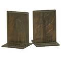 Rene paul chambellan american 18931955metropolitan life insurance company 1940 bronze bookends signed rene chambellan sc 5 58 high each