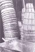 Black  White Baskets Photograph