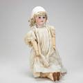 German bisque head doll simon  halbig 1079 early 20th c marked 26