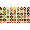 Three 19th c quilts tulip applique pinwheel variation and friendship quilt top dated 1843 quilt top 105 sq
