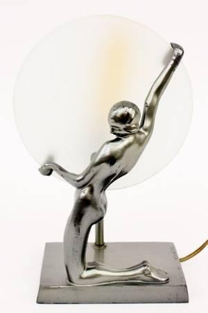 Frankart Figural Silhouette Lamp L244