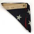 37star united states flag printed flag ca 1870 marked american ensign company 8 ft i linton 96 x 48