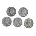 Us quarters 620 pieces include 1927s 1934d 1940s 2 1941d 1943s 1944s 1945d 1949 155 face silver
