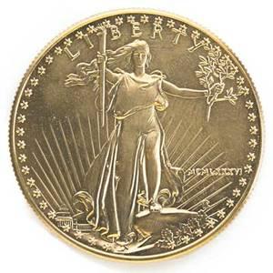 Us gold bullion 1988 1 oz american eagle