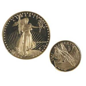 Us gold coinsbullion 1986 proof 50 22k lot 1987 constitution 5 900 fine 14 ot