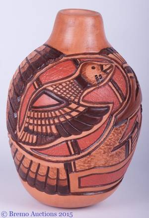 Native American Nampeyo Pottery Vase
