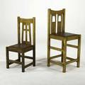 Black river mission contemporary limbert style side chair and bar stool with dropin seats late 20th c stamped mark chair 39 14 x 16 12 x 16 14