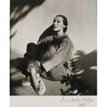 Louise dahlwolfe vintage delores del rio photograph silver gelatin print delores del rio 1938 the mat is pencil signed and dated there is no stamp mark on the photo or mat 14 x 11 sheet