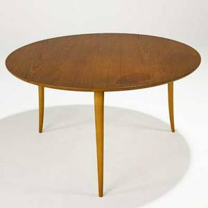 Bruno mathsson karl mathsson occasional table sweden 1950s note rare in this size teak and laminated birch branded mark 23 x 41 14