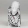 David reekie patedeverre figural sculpture norwich uk 1989 signed and dated 5 34 x 2 34 x 6