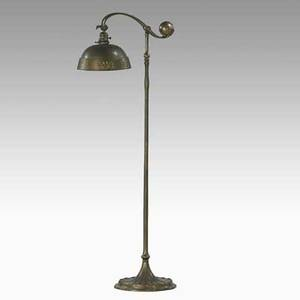 Tiffany studios counter balance floor lamp new york 1920s acidetched parcelgilt bronze leaded glass lamp stamped tiffany studios new york 681 shade stamped tiffany studios 118 approx 53 x
