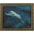Edward curtis american 18681952 bluetoned silver photograph framed floating aphrodite usa ca 1920 signed curtis and l a sight 7 14 x 9 14
