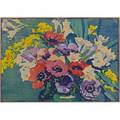 Margaret j patterson american 18671950 color woodblock print on handmade paper spring flowers matted boston ca 1930 exhibition brooklyn museum color print exhibition 1933 pencil ti