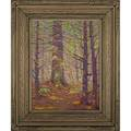 Henry j albright american 18871951 oil on canvas board glenmont ny ca 1920 mounted in original frame made by artist provenance robert edwards gallery collection of a private delaware col