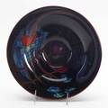 Herb babcock blown glass bowl ca 1975 provenance collection of jean heilbrunn habatat galleries detroit mi signed and dated 3 12 x 11