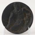 Bronze medallion austrian secessionist dankeszeichen fur treue hilte und mitarbeit deutsches studentenwork ev 19211931 signed raddatz 4 12 dia