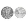Silver bullion rounds 25 pieces 20 1982 libertad onza 4 1994 american eagle 1 1991 american eagle all bu gem