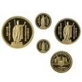1993 hawaiian sovereign gold coin set first gold proofs royal hawaiian mint 9999 fine set 365400 1 ot 12 ot 14 ot 110 ot 120 ot