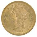 1904 2000 gold coin ms 60