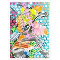 Frank stella american b 1936 untitled 1997 lithograph in colors signed dated and numbered 41100 17 12 x 12 12 sheet publisher tyler graphics los angeles provenance private collec